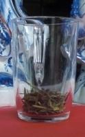 Chinese thee zetten Glas met longjing 1