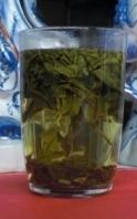 Chinese thee zetten Glas met longjing 3